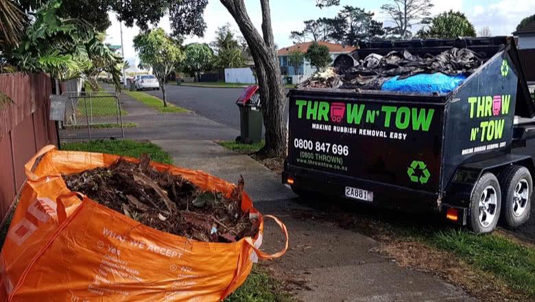 garden waste collection auckland