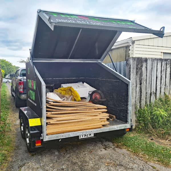 Skip Bin 4.5 Cubic Meter For Hire in Auckland
